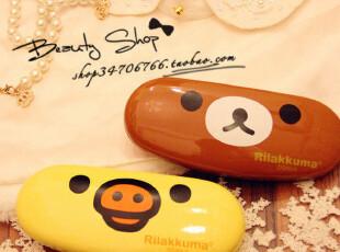 特 Rila*kuma 小熊和凯T猫的眼镜盒^^♥,玩偶,