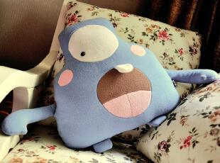 【创意站】PLUMO原创欢乐生物 VID小怪兽抱枕 娃娃 礼物 玩偶,玩偶,