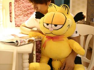 七夕节送女友礼物正版加菲猫毛绒公仔大号噶肥猫卡通猫咪玩偶生日,玩偶,