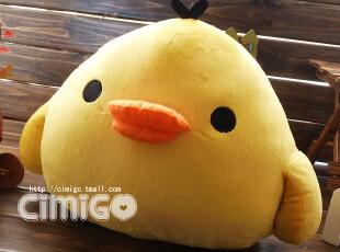 西米果 轻松熊 轻松鸡 可爱卡通公仔毛绒玩具 抱枕靠垫大号,玩偶,