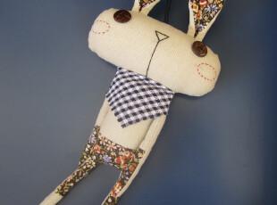(25元换购)半点家族 米兔 原创手工布偶 包包汽车居家布艺挂饰,玩偶,