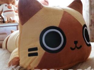 绒古 日款艾路猫 爬爬猫公仔 抱枕靠垫 毛绒玩具 送人礼物,玩偶,