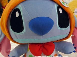 日本正版 东京迪士尼STITCH史迪仔星际宝贝斑点变装 公仔~绝版!,玩偶,