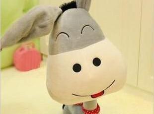 呆呆驴 伊尔驴 微笑小毛驴 驴儿童毛绒玩具公仔 娃娃礼品大号玩偶,玩偶,