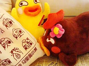 正版马里奥小黄 小幺鸡公仔 玩偶 小贱鸡非洲鸡小黑鸡送正版袋子,玩偶,