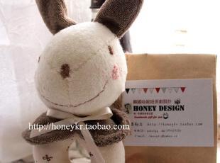 【限量】 honeyDIY KIKI兔宝宝摇铃玩偶 婴儿摇铃玩具(非成品),玩偶,