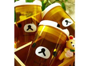 柿子小姐杂货商店 轻松熊 rilakkuma 透明密封罐易拉罐 157,玩偶,