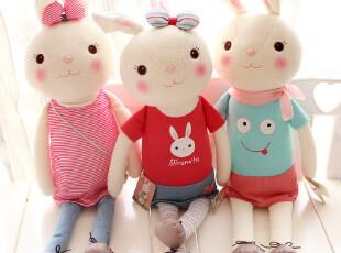 特!metoo正品提拉米兔 情侣兔子毛绒玩具公仔 礼物 儿童小抱枕,玩偶,