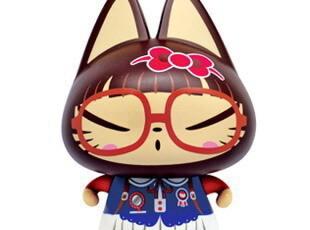超Q人气 ZhuaiMao公仔创意礼品动漫玩偶摆件萌礼物学妹 拽猫,玩偶,