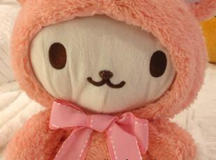 日本正品治愈系usazukin Amuse美乐兔变身羊驼神兽公仔超大粉色,玩偶,