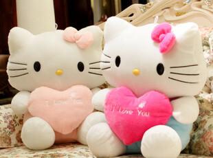 hello kitty 凯蒂猫 毛绒玩具公仔可爱生日礼物KT情侣猫布娃娃,玩偶,