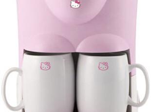 『韩国网站代购』HelloKitty可爱粉色咖啡器,玩偶,