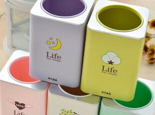 「沽奇汇」韩国文具创意时代良品可爱卡通笔筒 多用储笔筒收纳盒,玩偶,