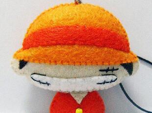 布公主 海贼王の路飞不织布材料包DIY挂饰玩偶礼品,玩偶,