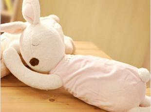 韩国代购正版Le Sucre砂糖兔抱枕睡枕毛绒玩具(2色入),玩偶,
