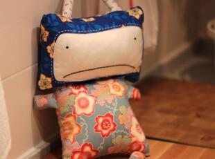 HSIU 手工DIY材料包布艺玩具情侣公仔抱枕生日圣诞情人礼品小花兔,玩偶,