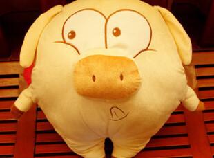 毛绒玩具天使猪公仔麦兜猪三顺猪娃娃玩偶抱枕送女生女朋友礼物,玩偶,