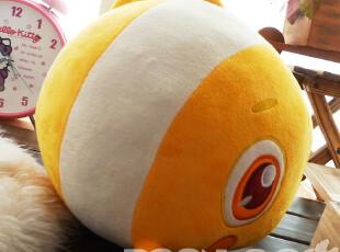 绒古 小丑鱼公仔 尼莫 可爱抱枕靠垫 杂物抱抱 毛绒玩具 情人礼物,玩偶,