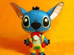 布布熊的梦想 不织布材料包 手工DIY  史迪奇玩偶,玩偶,
