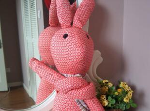 麦多拉-棉言物语 环保布艺休闲兔 娃娃玩具礼品(大号),玩偶,
