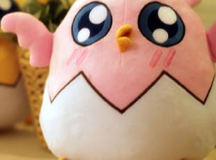 鹿玲满满月正版授权糖心G崽抱枕腰垫单只鸡仔鸡崽 粉色黄色,玩偶,