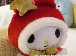 日本正版原单sanrio my melody美乐蒂戴帽星星款公仔,玩偶,