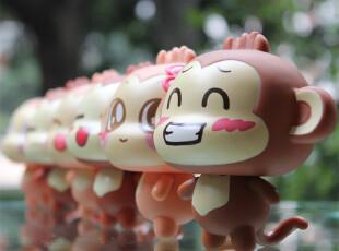 正版悠嘻猴搪胶摆件 情侣公仔摆设礼物动漫卡通 七夕情人节礼物,玩偶,