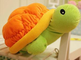 米西公主 亮丽趴趴乌龟 公仔 抱枕靠垫靠枕 毛绒玩具 颜色鲜艳,玩偶,