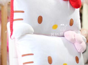 正版新款Hello Kitty公仔 凯蒂猫 KT猫抱枕 枕头 毛绒玩具双人枕,玩偶,