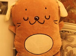 饼干狗可爱抱枕超大靠背垫狗狗创意毛绒玩具布娃娃玩偶情侣女礼物,玩偶,