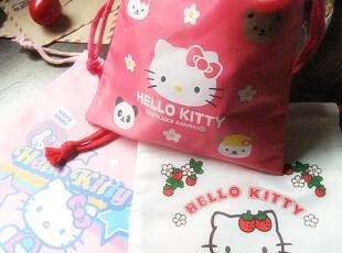 特价。日单。Hello kitty拉绳束口袋 收纳袋 杂物袋 卫生巾包,玩偶,