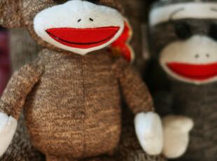 袜子猴 小号,玩偶,