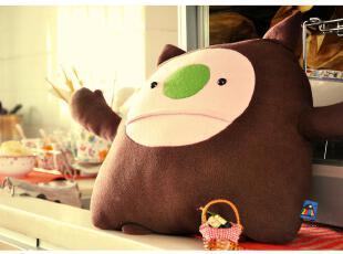 【创意站】PLUMO原创欢乐生物 CORT小怪兽抱枕 娃娃 玩偶 毛绒,玩偶,