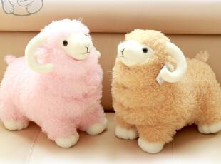 喜羊羊 山羊 羊公仔 毛绒羊仿真羊 玩具七夕 生日礼物,玩偶,
