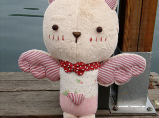 正品授权【Clownbear小丑熊】空岛猫 大号公仔 玩偶 娃娃,玩偶,