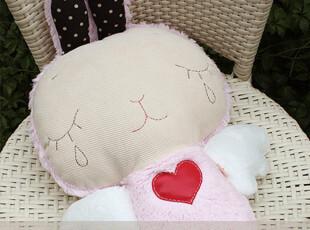 [布童凡想]波波安(兔)创意可爱手工玩偶 生日七夕情人节礼物,玩偶,