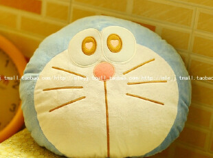 毛绒玩具机器猫哆啦A梦小叮当靠垫抱枕午休枕可爱创意女生日礼物,玩偶,