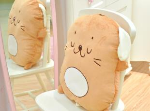萌萌兔饼干狗/可爱抱枕 大靠背垫 创意毛绒玩具娃娃玩偶礼,玩偶,