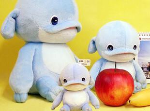 【满88包邮】海豚MUMU 爱就宅一起 生日礼物 姆姆 毛绒玩具玩偶,玩偶,