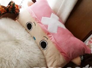 绒古 海贼王 乔巴 CHOPPER 糜鹿 抱枕靠垫 卡通枕头 可拆洗包邮,玩偶,