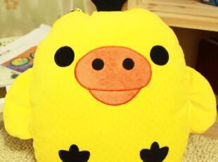 小鸡 小熊 抱枕 靠垫 空调被两用 卡通 玩偶 生日礼物 抱枕被,玩偶,