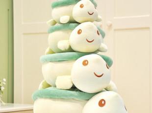 特价小乌龟靠背垫抱枕 长寿情侣趴趴海龟 生日教师礼物毛绒玩具,玩偶,