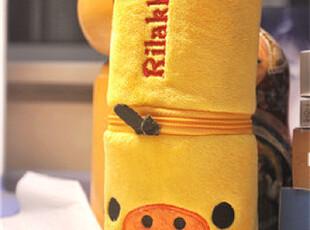 【轻松小熊 rilakkuma 松弛熊】猪鼻鸡新颖文具袋/笔袋/杂物包,玩偶,