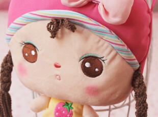 正品咪兔Metoo安吉拉卡通毛绒娃娃儿童斜跨包便携小挎包可爱,玩偶,