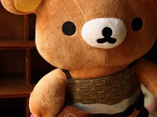 正版San-x Rilakkuma轻松熊巧克力熊哥毛绒公仔 情人节礼物,玩偶,