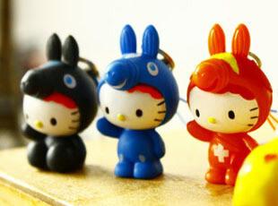 日本尾单hello kitty x rody 合作版限量 手机挂件挂链15,玩偶,