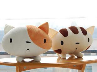 大脸猫 韩国Cutie Mineco 大脸猫咪 超可爱情侣毛绒公仔抱枕,玩偶,