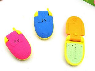 韩国文具批发 创意儿童礼品 礼物 学生奖品 可拆装手机造型橡皮擦,玩偶,