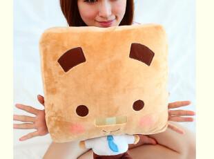 特价 正版 张小盒莉莉盒午睡枕经典款抱枕 靠垫 天长地久,玩偶,