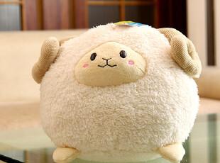 欢欢熊超萌柔软圆球羊羊毛绒玩具公仔圣诞节礼物,玩偶,